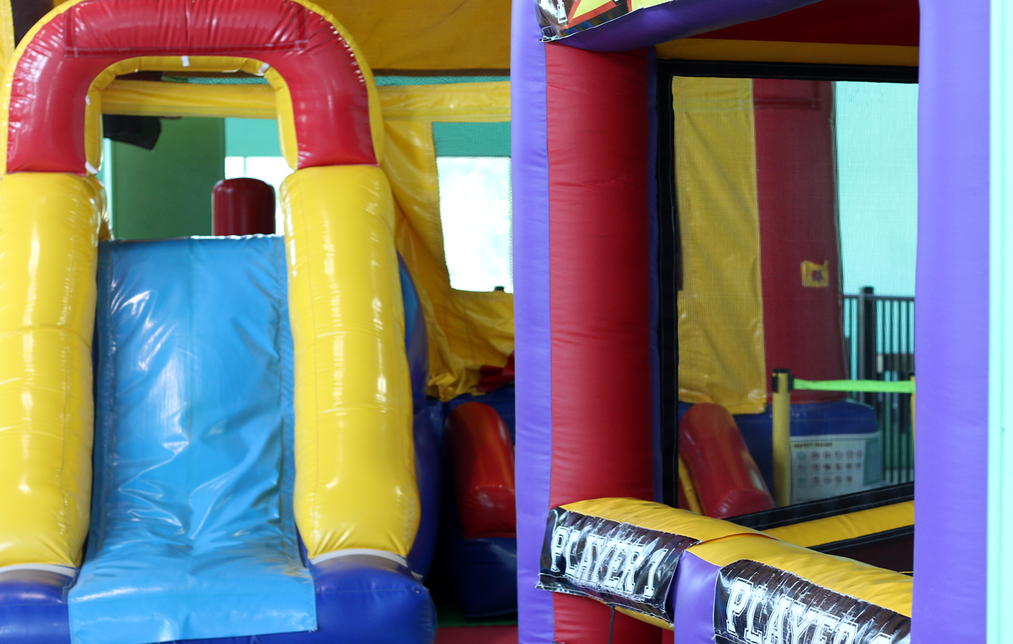Indoor Bounce And Play Structure Castaway Play Cafe