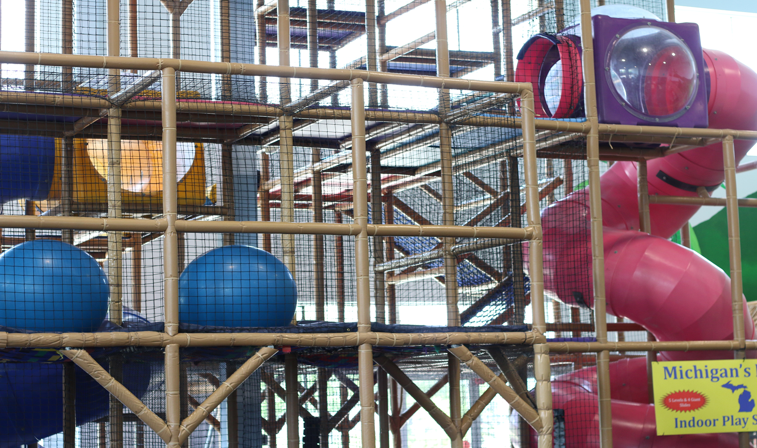 Indoor Play Structure - Castaway Play Cafe